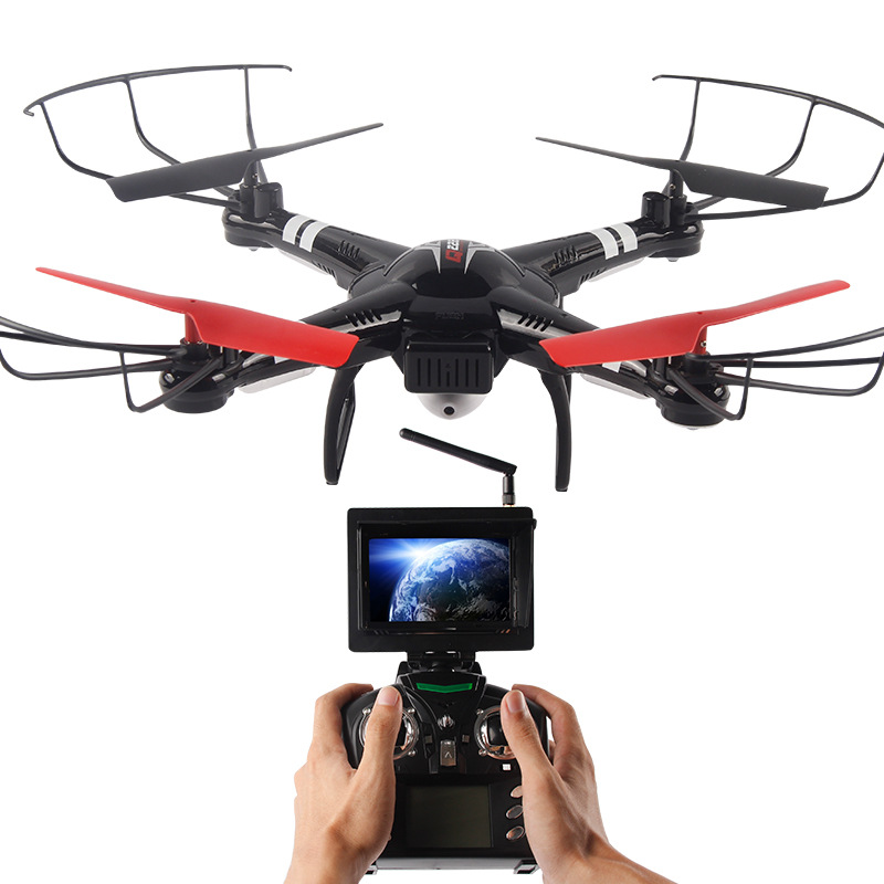 4 Channels Drone RC Helicopter With Wifi LED Light 360° Flips