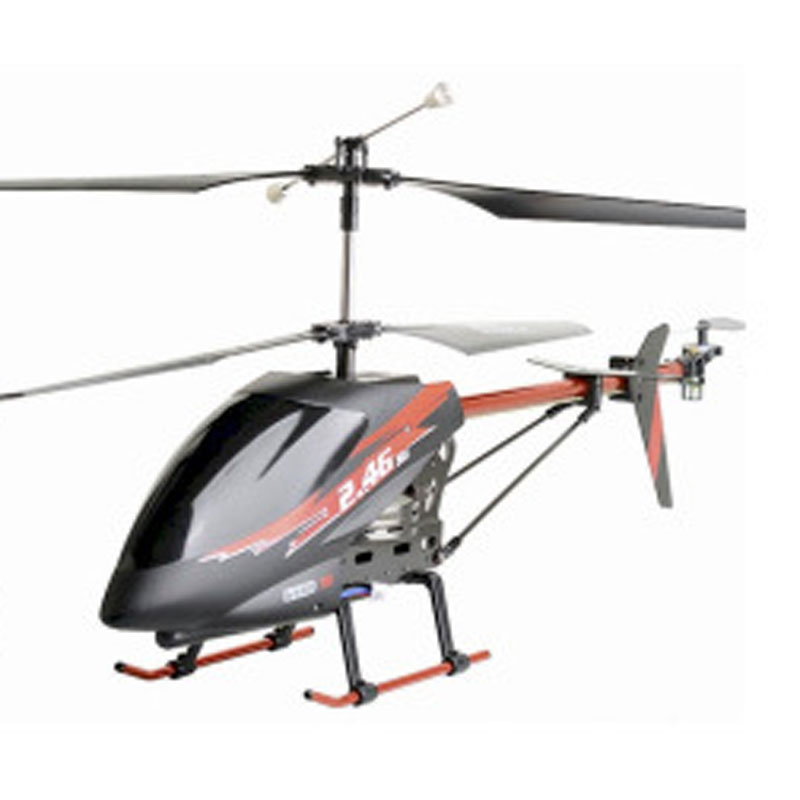 3 Channels 2.4GHz RC Helicopter With Camera 3D Full Flight Toy