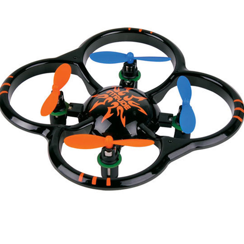 Mini 4 Channels 2.4GHz RC Helicopter With LED Lights Toy