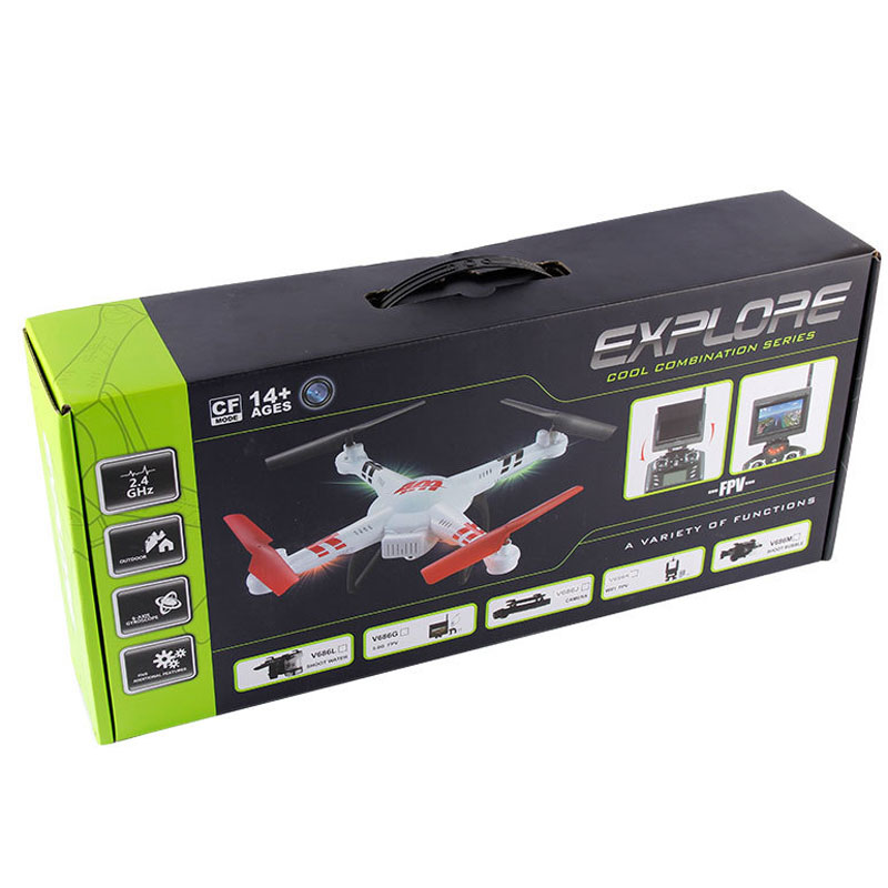 4 Channels 2.4GHz RC Helicopter With 2MP HD Camera Real Time Toy