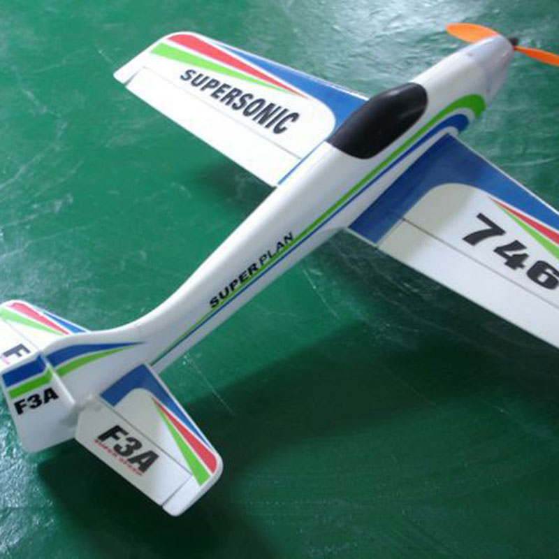 4 Channels 2.4GHz RC Airplane With 360 Degrees Spin For Kids Toys Gift
