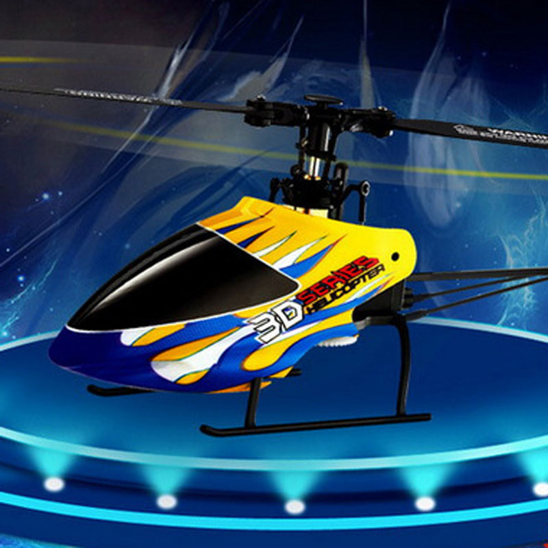 6 Channels 2.4GHz RC Helicopter With 3D Stunt King For Kids Toys Gift