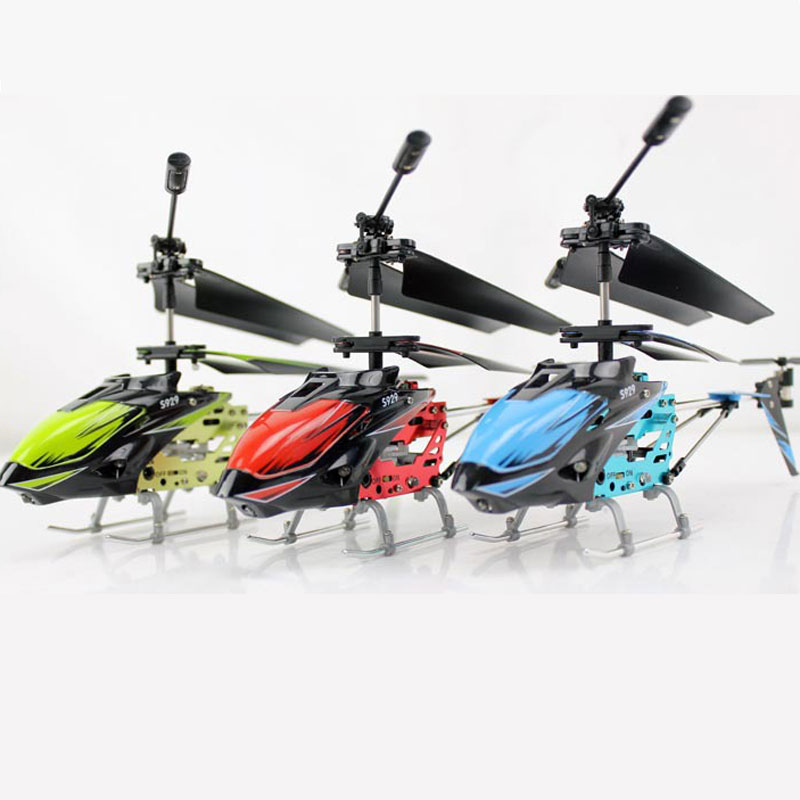 S929 RC Helicopter 3.5 Channels With LED For Kids Toys Gift