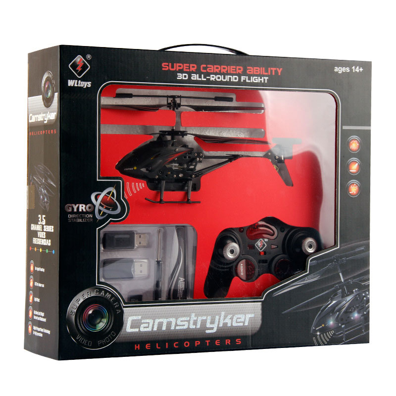 S977 RC Helicopter 3.5 Channels With HD Camera For Kids Toys Gift