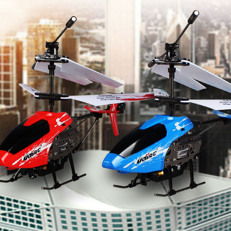 U822 RC Helicopter 3.5 Channels With 360 Degrees Spin Toy