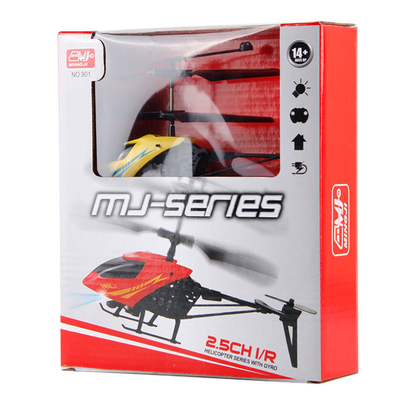 SJ-011 Mini RC Helicopter 2.4GHz 2.5 Channels With LED Toy