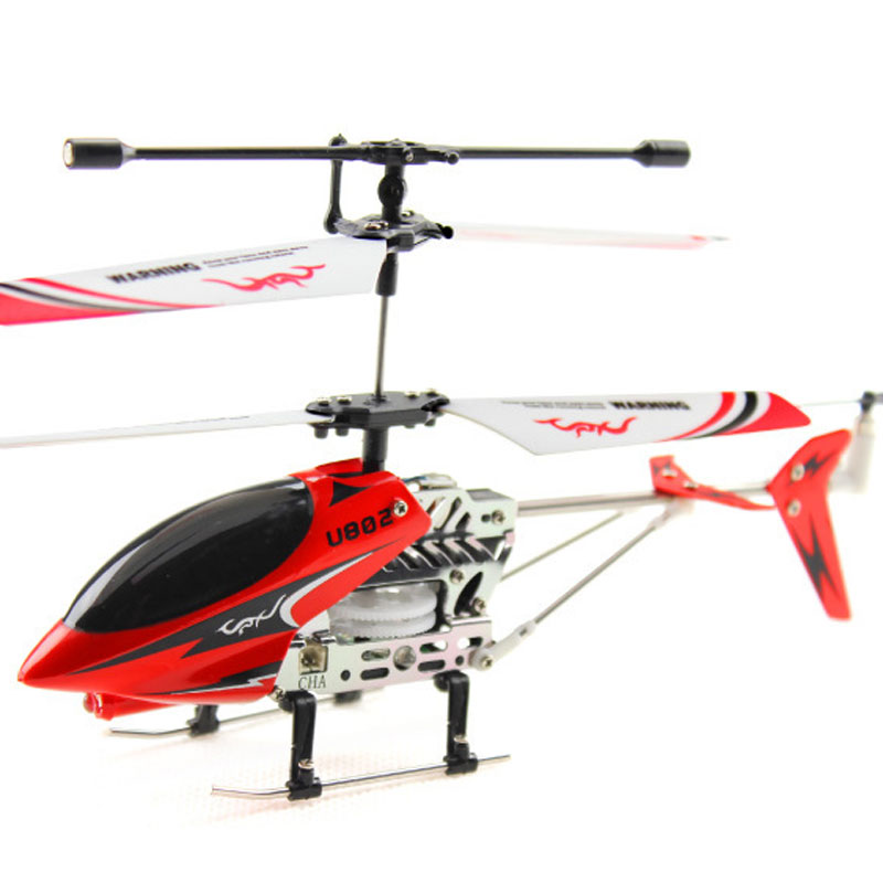 U802 RC Helicopter 2.4GHz 3.5 Channels With LED For Kids Toys Gift
