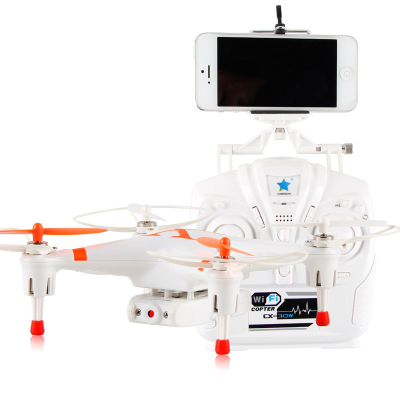 CX-30W-tx FPV RC Quadcopter With WIFI HD Camera Real Time Transmission
