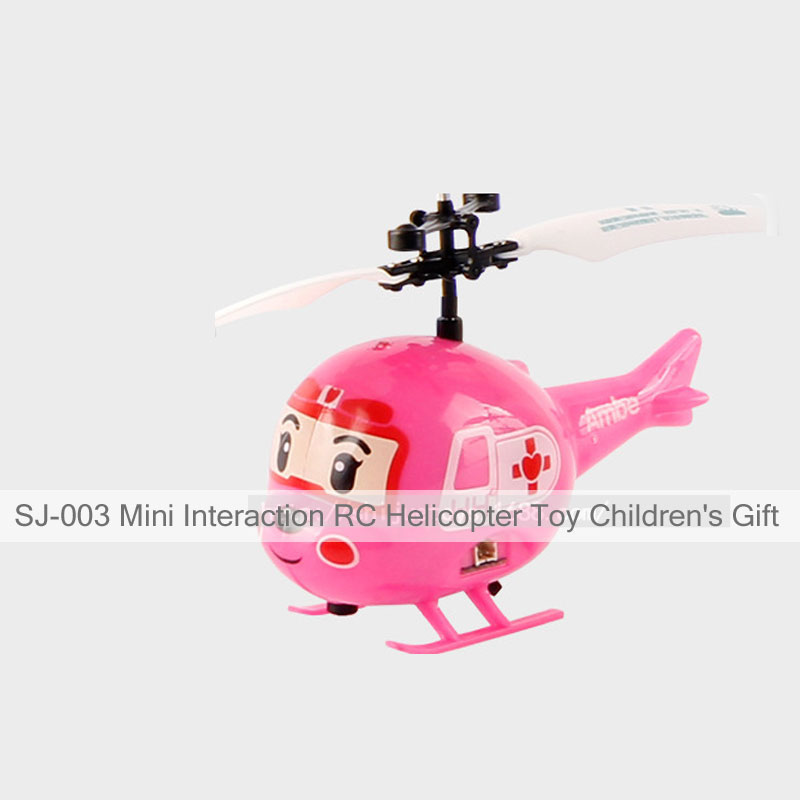 SJ-003 Mini Interaction RC Helicopter Toy Children\'s Gift