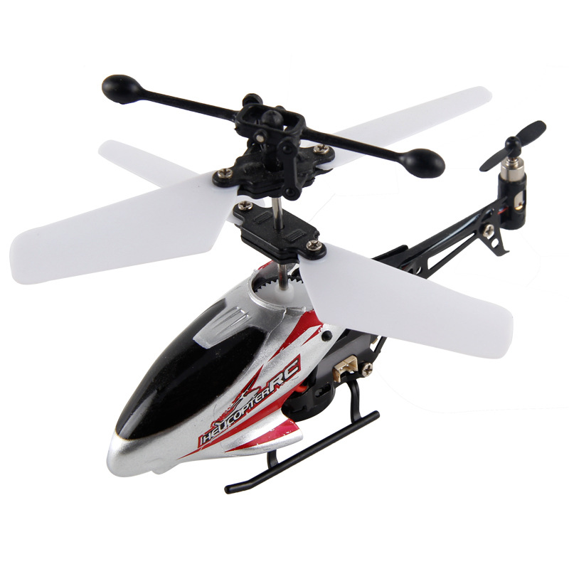 Mini Remote Control RC Helicopter Toy With LED Light