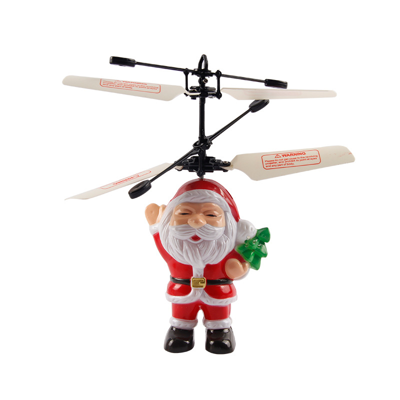 HY838/838A Christmas Father Santa Claus RC Helicopter Toy Gifts For Kids