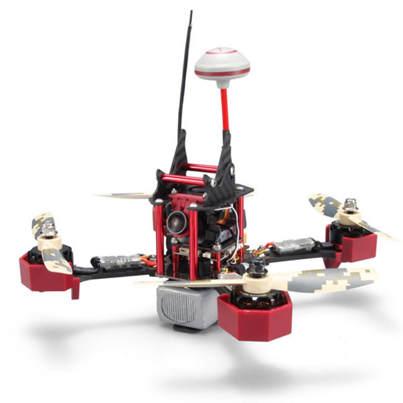 JJPRO - P200 FPV 800TVL Camera 6CH Racing Quadcopter ARF Version with Skyline32 Acro Flight Controller