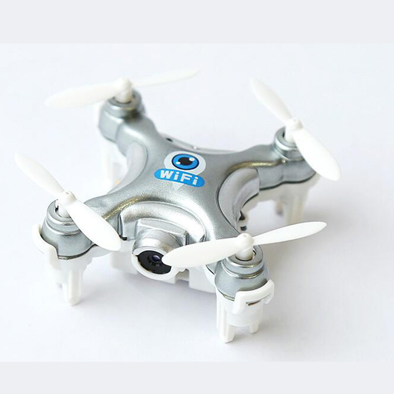 CX-10W Dron Quadrocopter RC Quadcopter Nano WIFI Drone with Camera 720P FPV 6AXIS GYRO Mini Drone