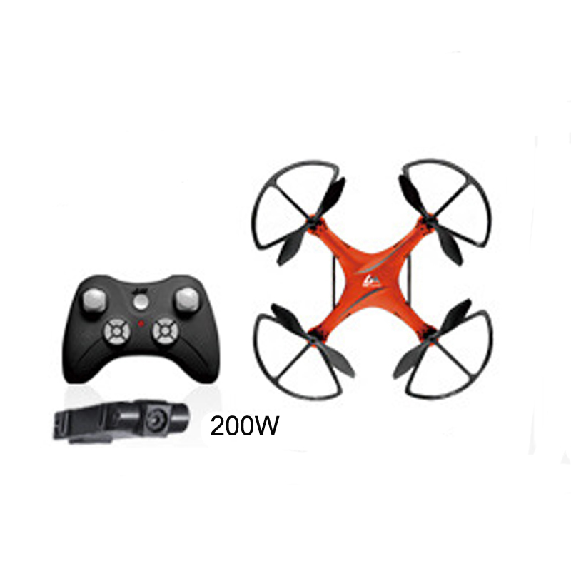 M8-3 Four Axis Drone With 200W Camera Quadcopter 3D Rollover RC Drone