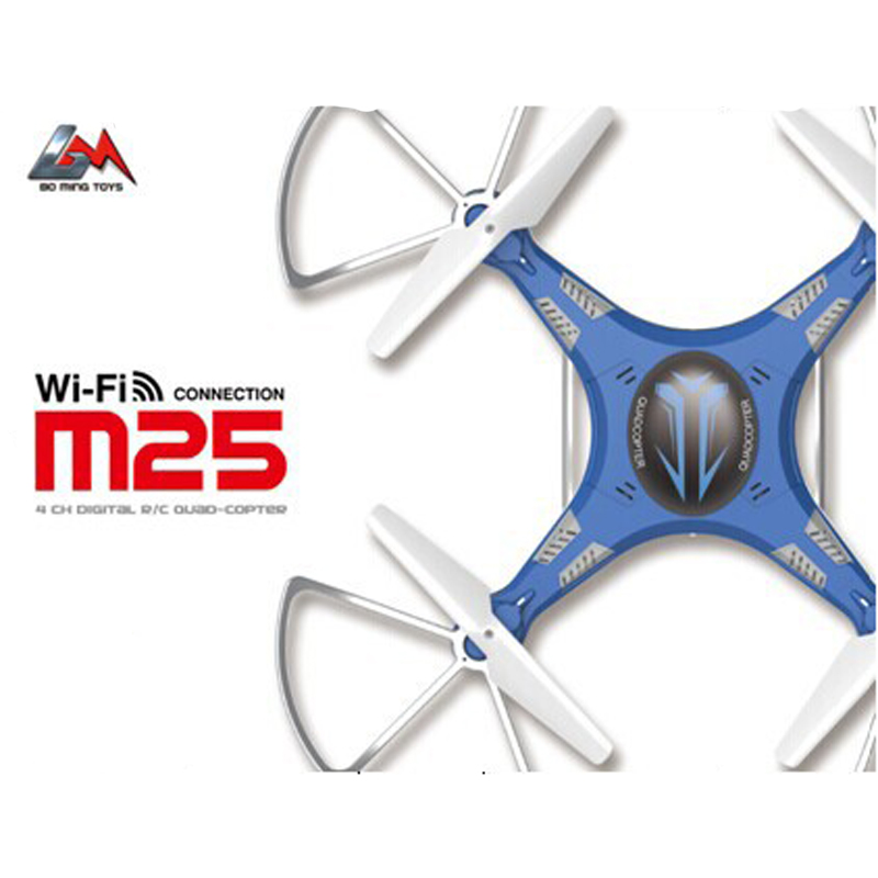 M25 2.4G Remote Control Quadcopter Drone High Speed Four Axis Drone