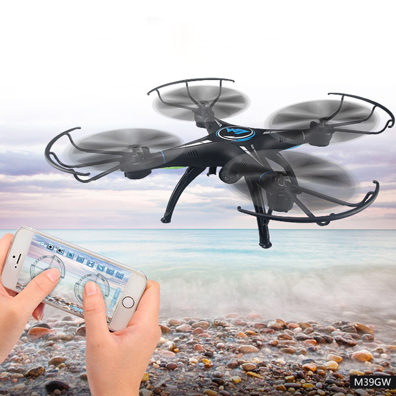 M39GW Four Axis Drone WiFi 30W Camera Quadcopter Remote Control Drone