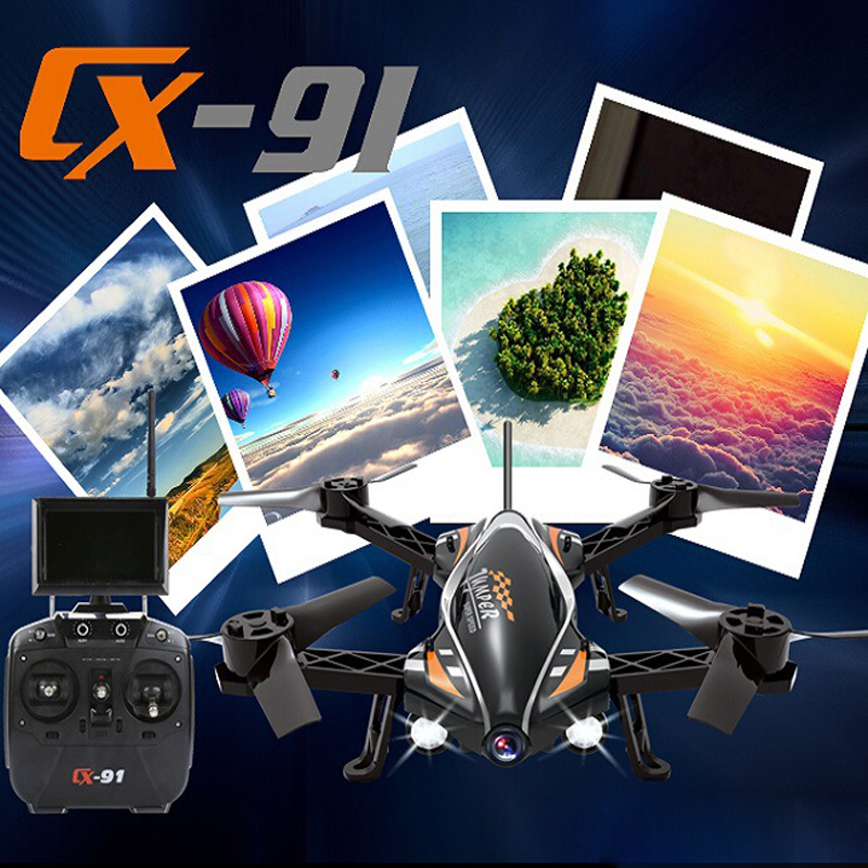CX-91 Brushless 2.4G FPV Four Axis Drone Remote Control Drone