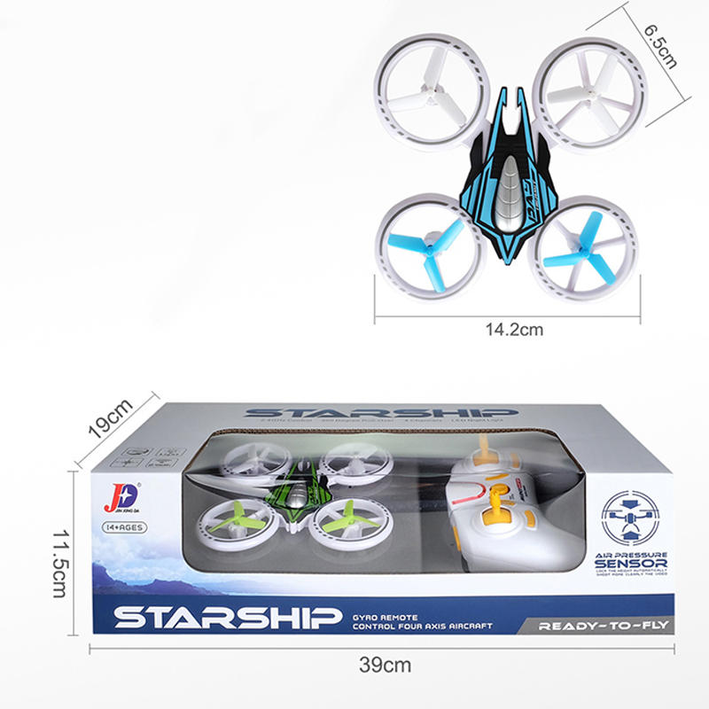 JXD399 Hot Mini RC Drone With LED Light Four Axis Drone Remote Control Drone