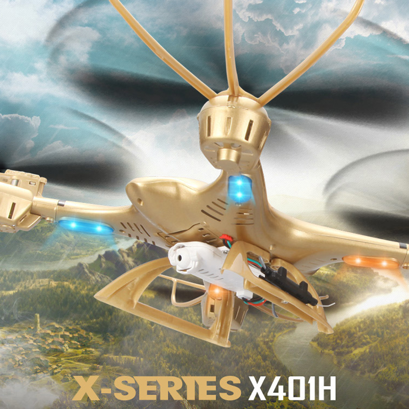 MJXX401H Altitude Hold WiFi FPV 2.4GHz 0.3MP CAM 4CH 6 Axis Gyro RC Quadcopte