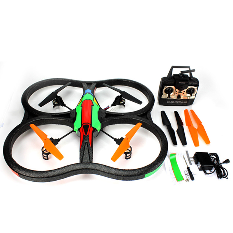 WL V262 2.4G Remote Control UFO Four Axis RC Hexacopter RC Drone