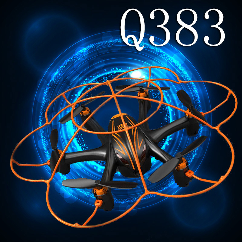 WL Q383 2.4Ghz UFO Six Axis RC Drone WIFi Image Transmission RC Quadcopter