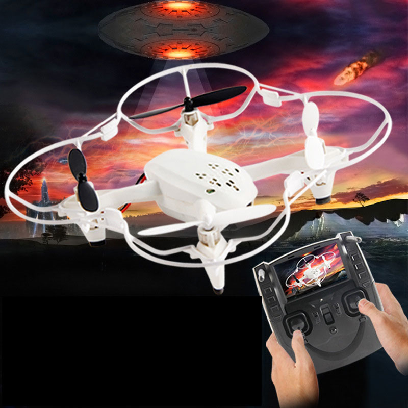 4 Channels RC Quadcopter With Six Axis Headless Mode For Kids Toys Gift
