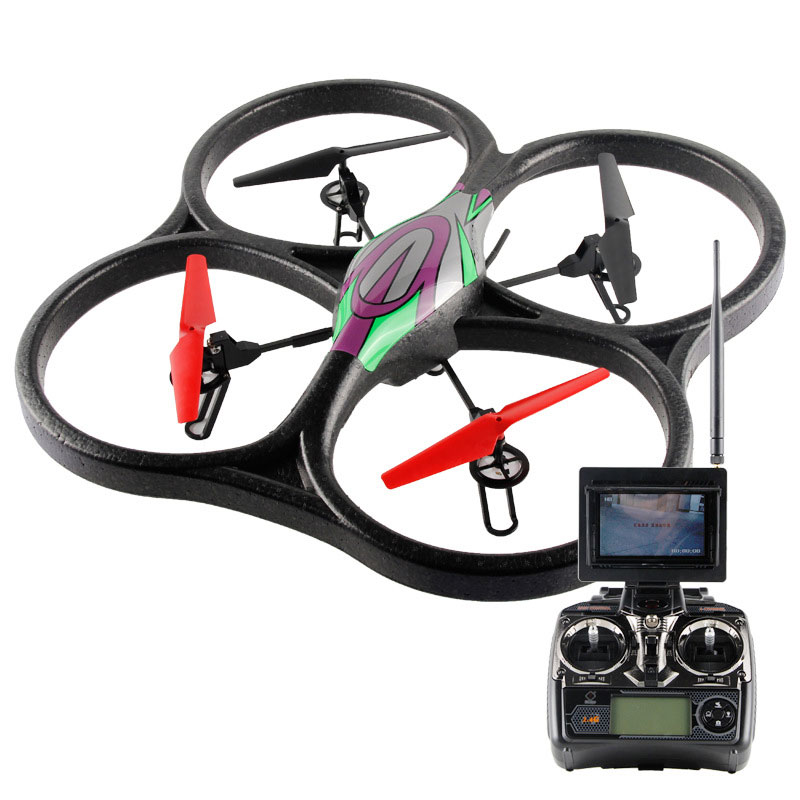 4 Channels 2.4GHz RC Quadcopter With Barometer Set High Toy