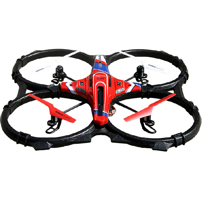 X6 RC Quadcopter 2.4GHz 4 Channels With 360 Degrees Spin Toy