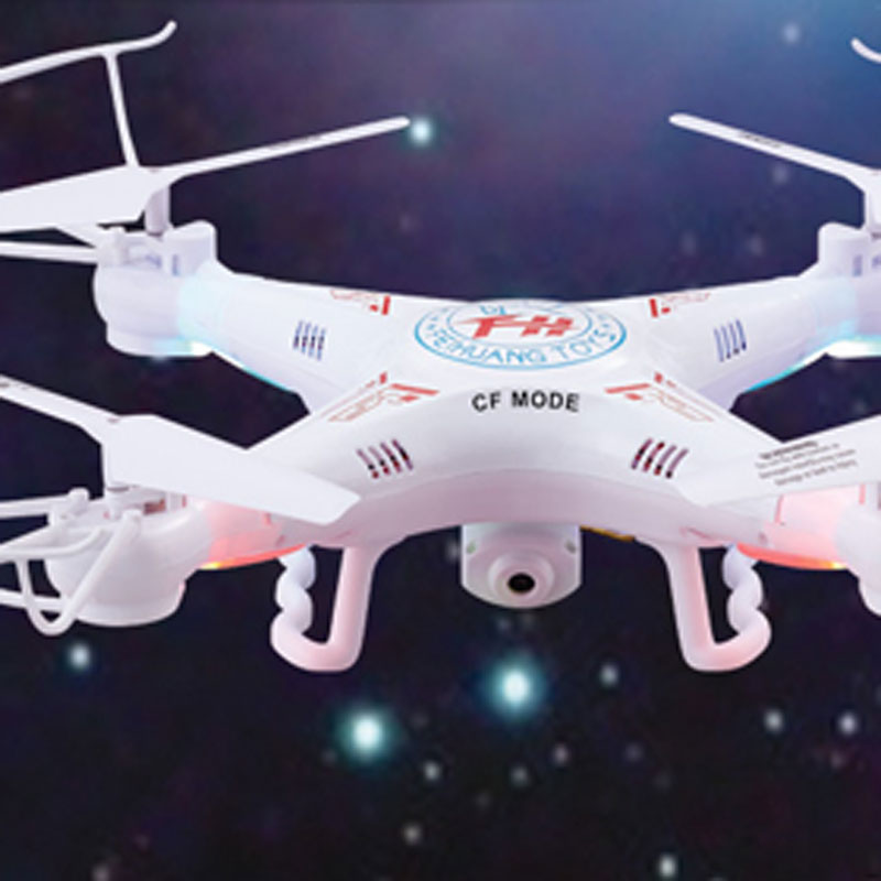 F805C RC Quadcopter 2.4GHz 4 Channels With Wifi HD Camera Toy