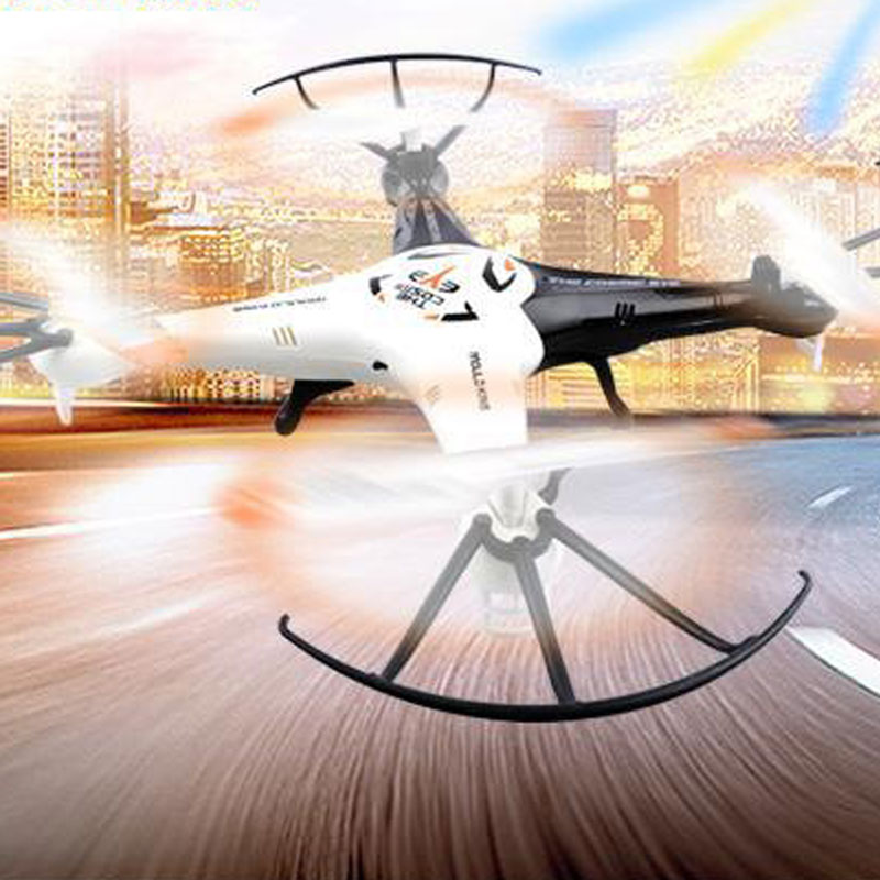 SJ33034 RC Quadcopter 2.4GHz 4 Channels With Headless Mode Toy