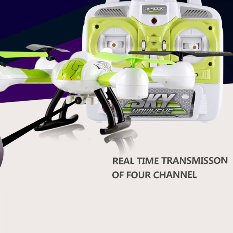 SJ107 Drone RC Quadcopter 4 Channels With Wifi Real-time Transmission For Kids Toys Gift