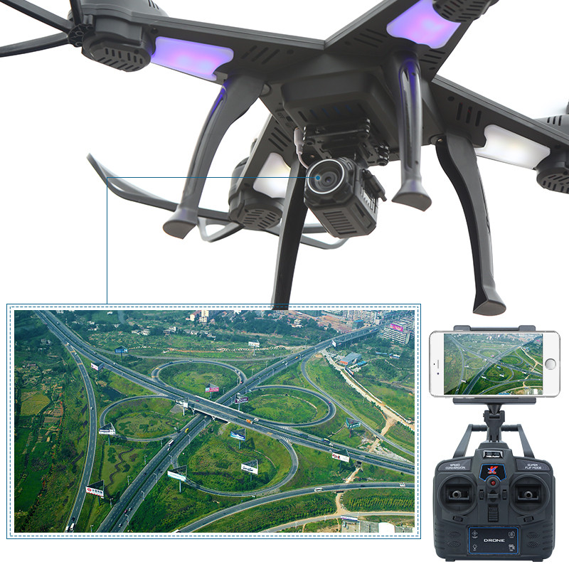 HengQi 908 RC Quadcopter With Wifi HD Camera 4 Channels Wireless