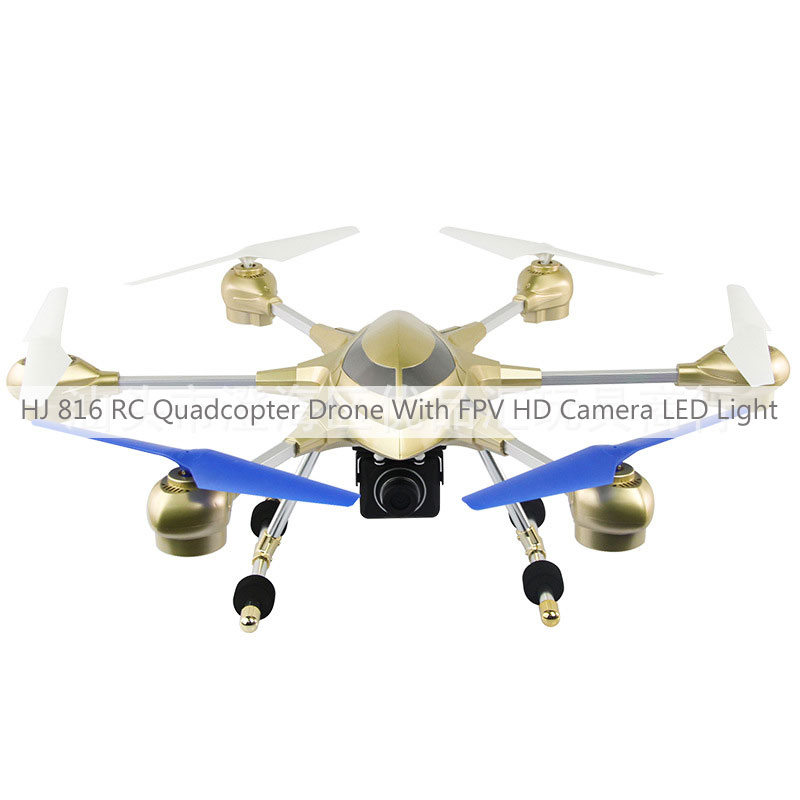 HJ 816 RC Quadcopter Drone With FPV HD Camera LED Light