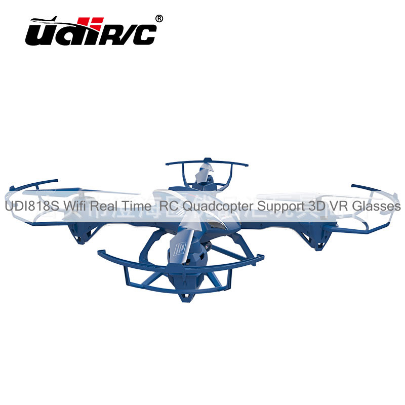 UDI818S Wifi Real Time RC Quadcopter Support 3D VR Glasses
