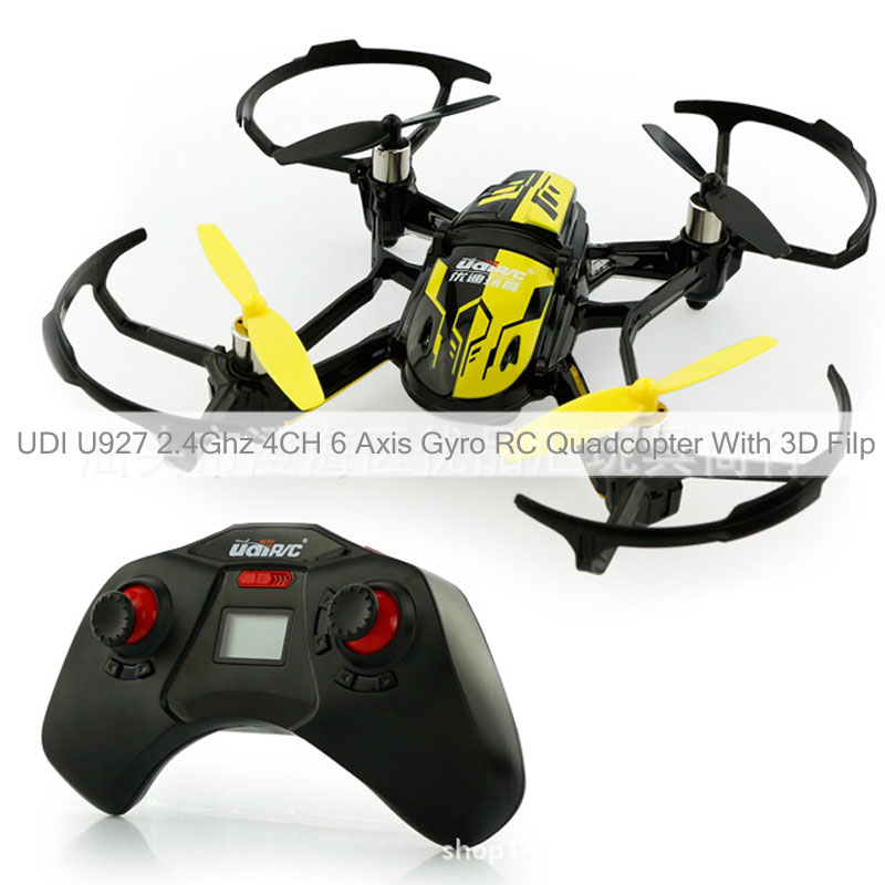UDI U927 2.4Ghz 4CH 6 Axis Gyro RC Quadcopter With 3D Filp