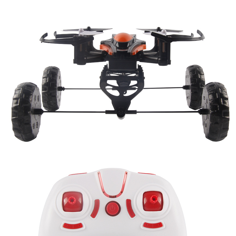 JXD 503 3-In-1 Land-Water-Air Triphibious RC Quadcopter