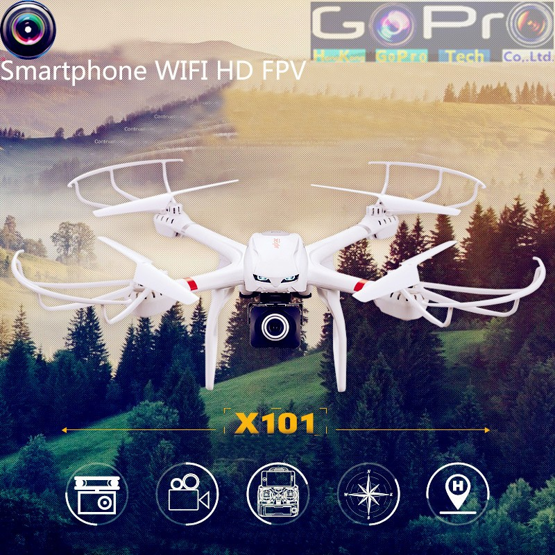 MJX X101 2.4GHz 4CH 6-Axis Gyro RC Quadcopter