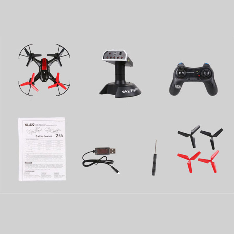 Attop YD-822S RC Quadcopter Support Fort Combat Function