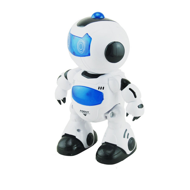 Light Emitting Remote Control Intelligent Robot Electric Music Dancer Toys