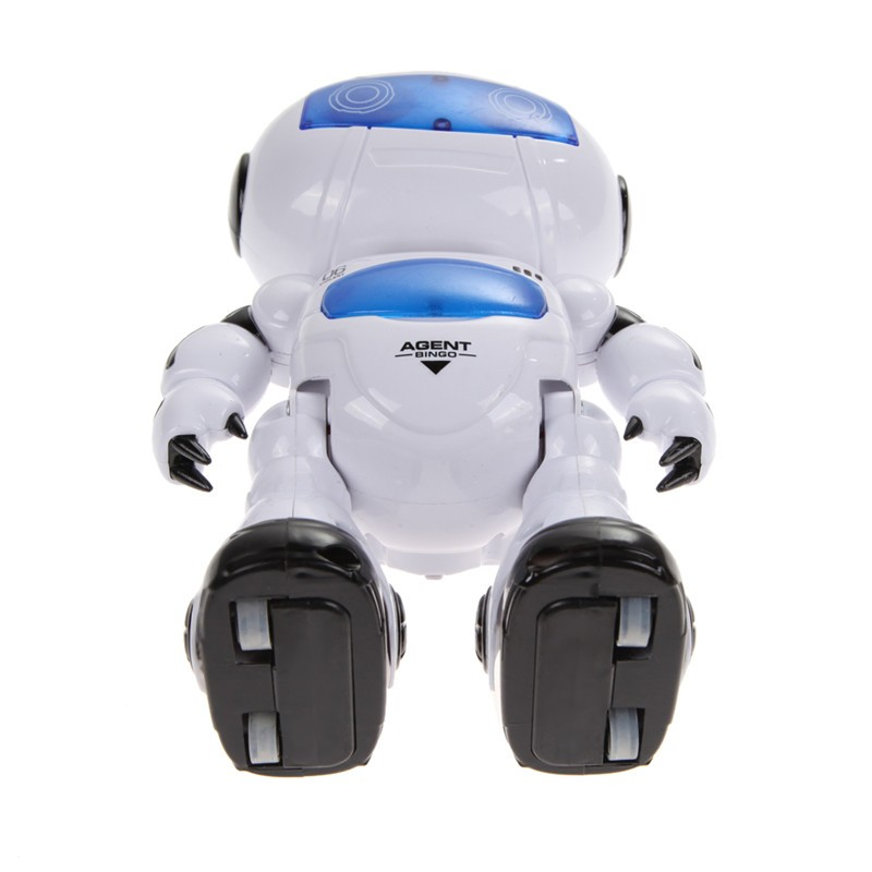 Remote Control Musical Electronic Robot Walk Dance Lightenning Toy