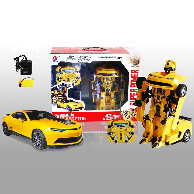 TT661 Bumblebee Transformation Remote Control Car Off-Road RC Vehicle For Kids