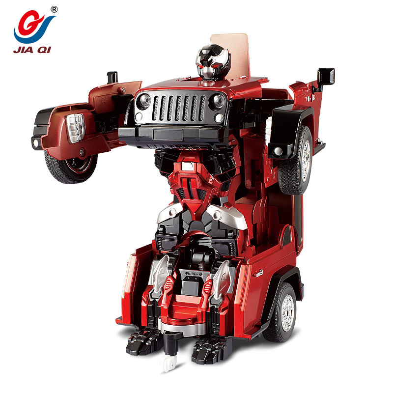 TT665 Wrangler Deformation Autobots Transformation RC Robot Car Gift For Kids