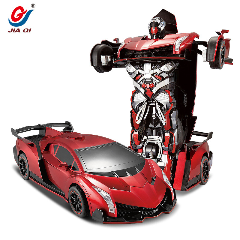 TT667 Sports Car Models Deformation Robot Transformation RC Car Gift For Kids