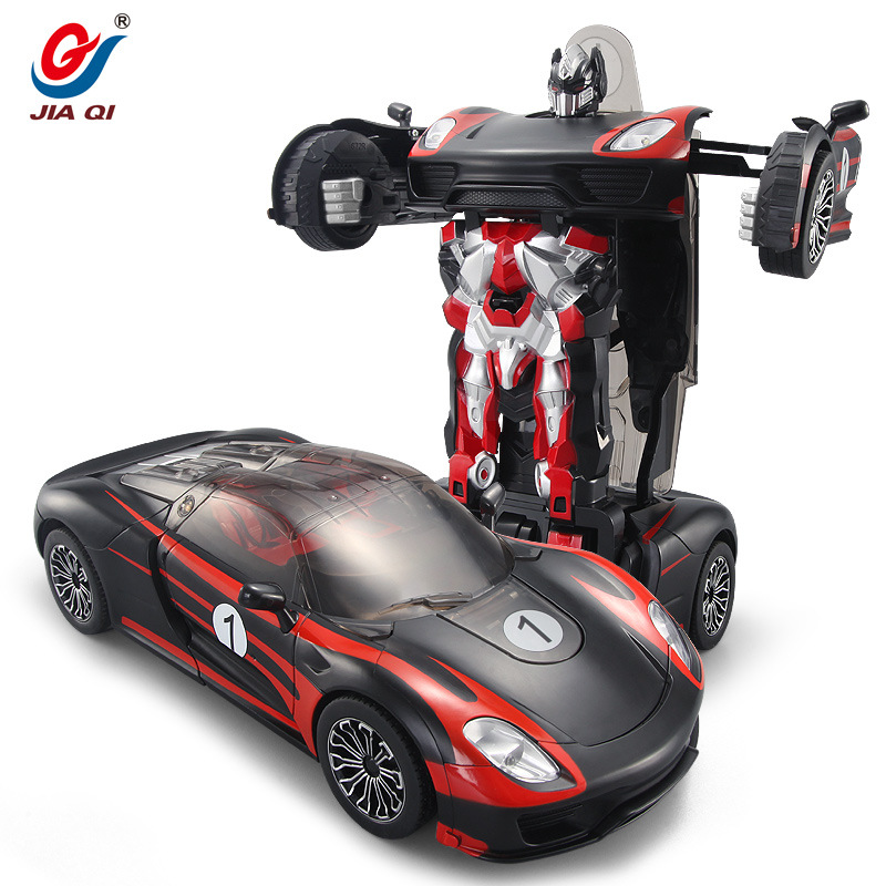 TT682 Cool Design One key Deformation Voice Remote Control Car Gift For Kids