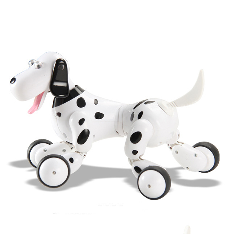 Cool Dog Intelligent Smart RC Robot 2.4G Sfancy Toy DIY Toy For Kids