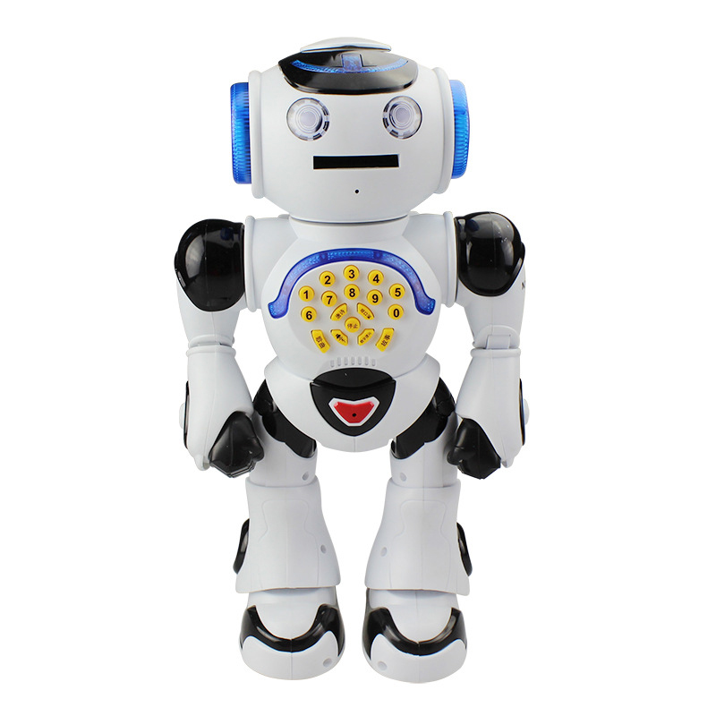JXD 1018 Hot Intelligent Smart RC Robot With VOIP Chat RC Robot