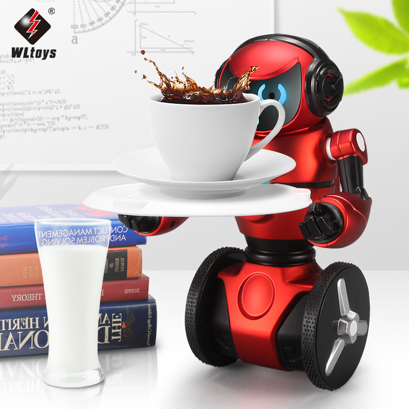 WLtoys F1 2.4G RC Robot Intelligent Balance G-Sensor Robot Light Weight
