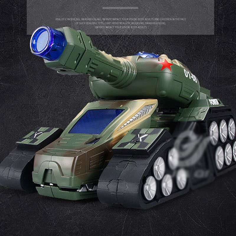 One Key Deformation Tank Dinosaur RC Tank Boy Toys TT670