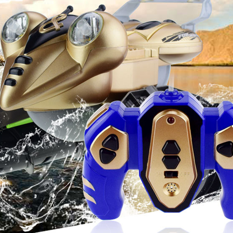ZC9025 Amphibious Remote Control Tank With LED Light RC Tank