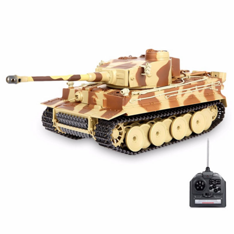 HOT Sale RC Tank With Shooting Bullets For Kids Toys Gift
